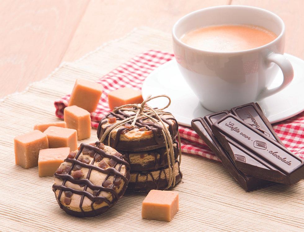 Toffee chocoladekoek