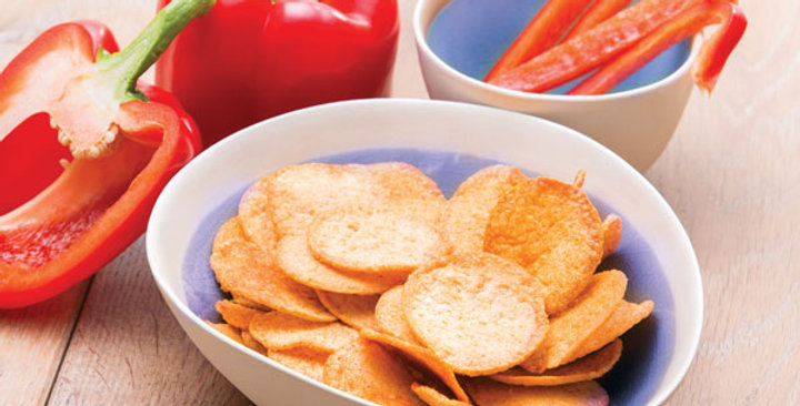 Chips sweet paprika