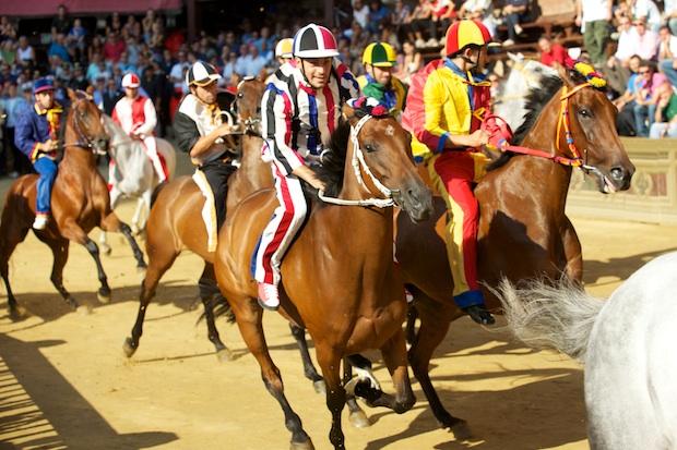 The Palio Horse Race