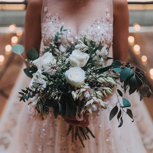 Fresh Bridal Bouquet (Fuss-free, florist's pick)
