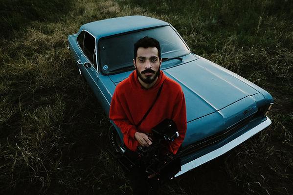 João Sinhori with a muscle car.jpg