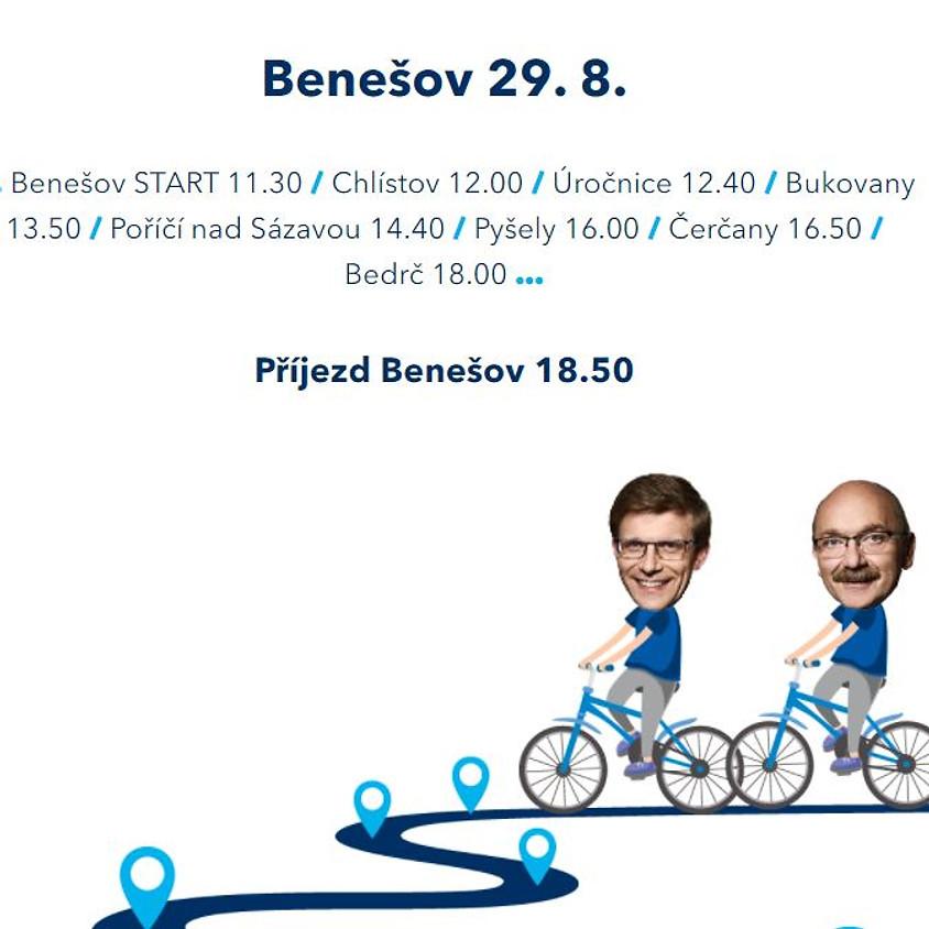 Cyklojízda: Benešov a okolí