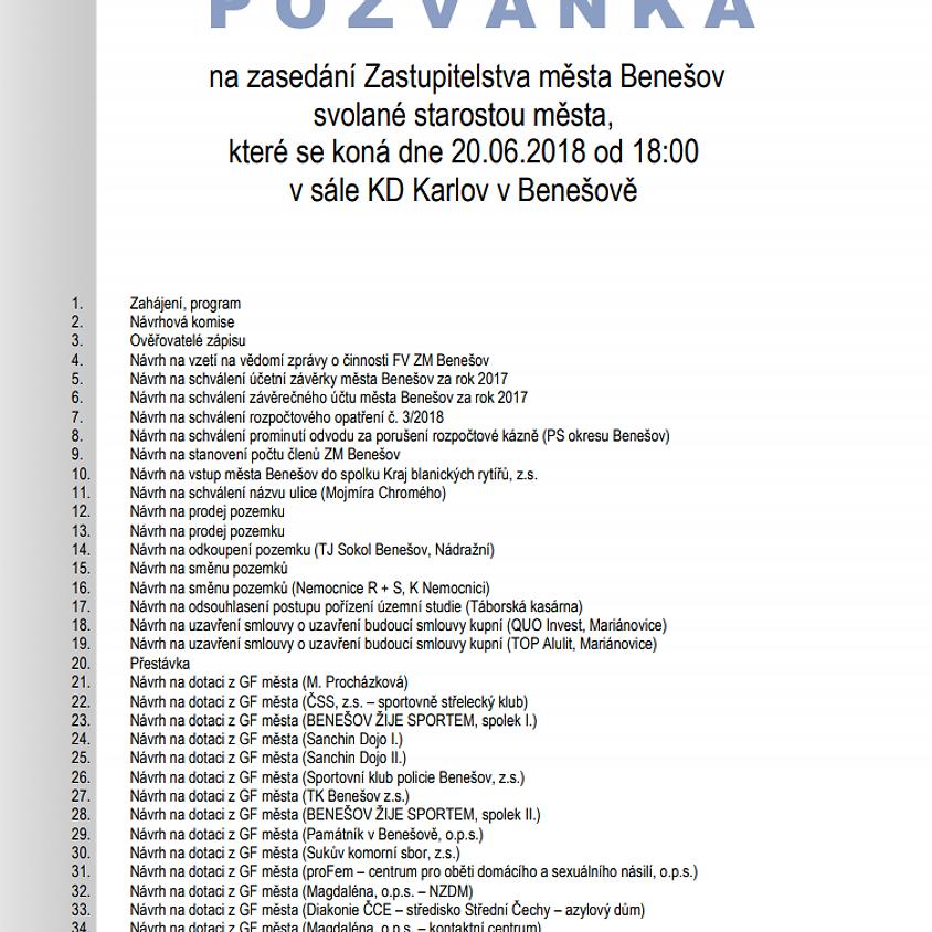 Zastupitelstvo města Benešov