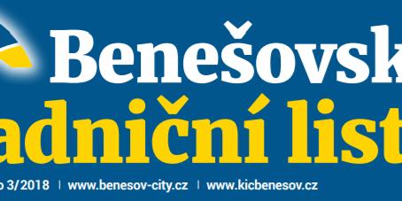 Benešovské radniční listy 3/2018