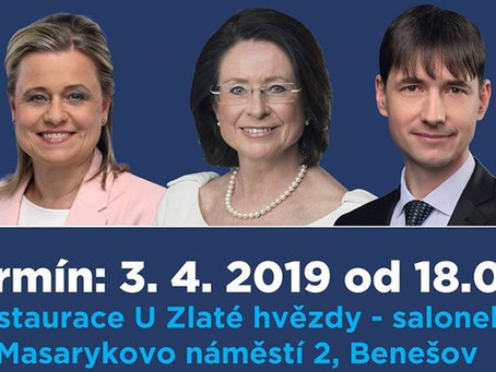 Debata k volbám do EU