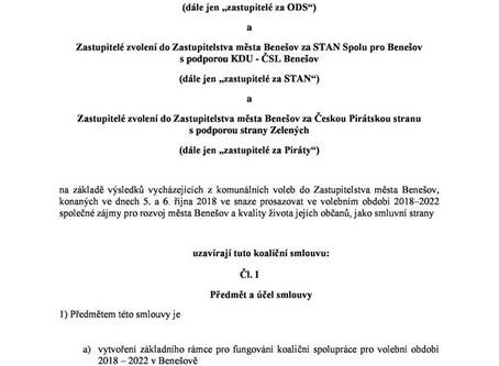 Koaliční smlouva - VPB+ODS+STAN+Piráti
