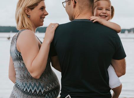 Zwangerschapsshoot Iris, Pepijn & Evi