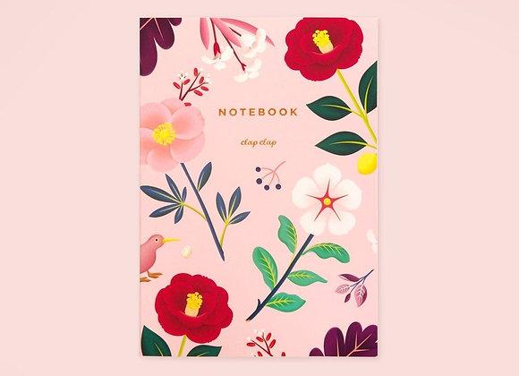 Garden Bloom Blush Notebook