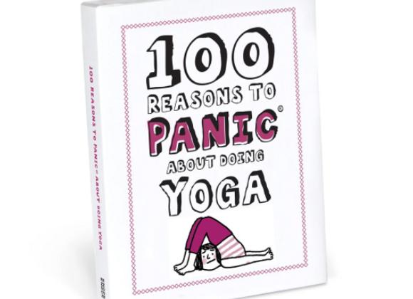 100 Reasons Panic Yoga Book