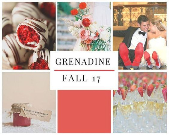 Let's 'Fall' in Love with Grenadine - Pantone 2017