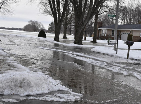 Preventing Water Damage from Melting Snow