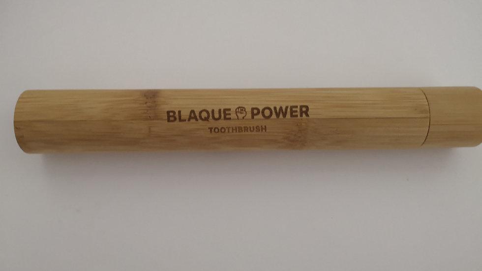 Blaque Power Bamboo Toothbrush Tube