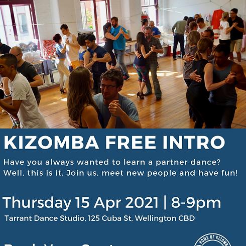 Kizomba Free Intro Thursday