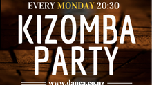 Wellington's Best Kizomba Social Every Monday Night