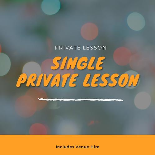 Private Class - Single Person