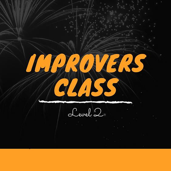 Kizomba Improvers Class - Term 4 - 2021