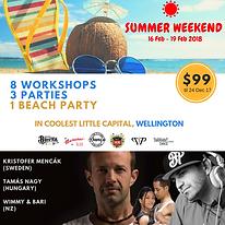 Wellington Summer Weekend Festival 2019