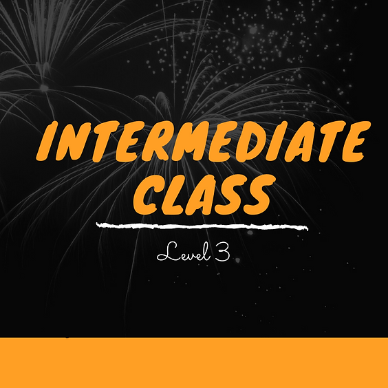 Kizomba Intermediate Class - Term 4 - 2021