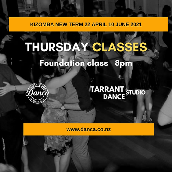 Kizomba Foundation Term Thursday