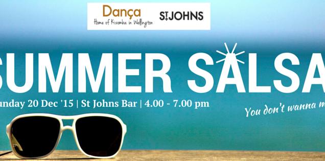 Sunday Summer Salsa at St Johns Bar