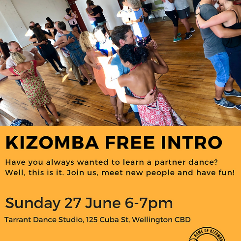Kizomba Free Intro Sunday
