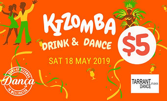 Kizomba drinks & dance Wellington New Ze