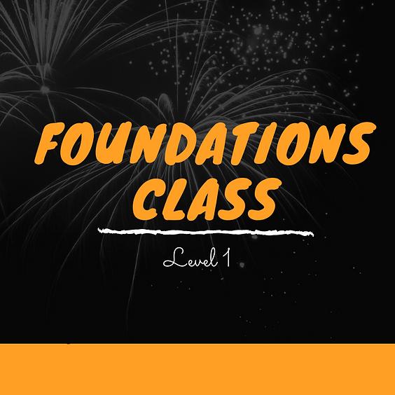 Kizomba Foundation Class - Term 4 - 2021