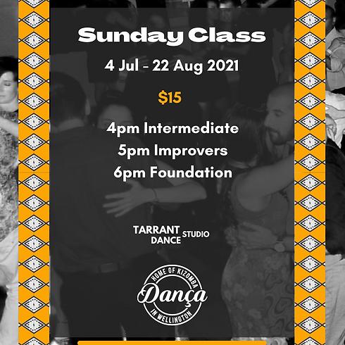 Kizomba Foundation Class - Term 3