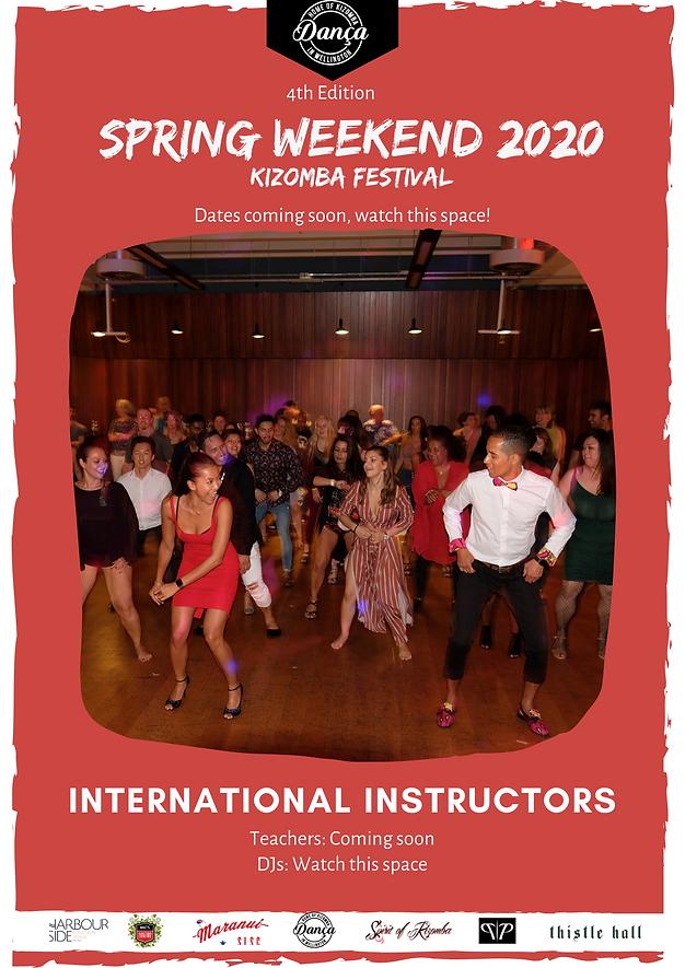 Spring Weekend Kizomba Festival 2020 Wel