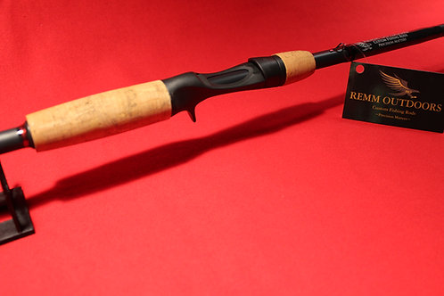 """7' 3"""" Handcrafted Bass Casting Rod"""