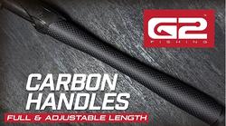 G2 Carbon Handles - Full & Adjustable Le