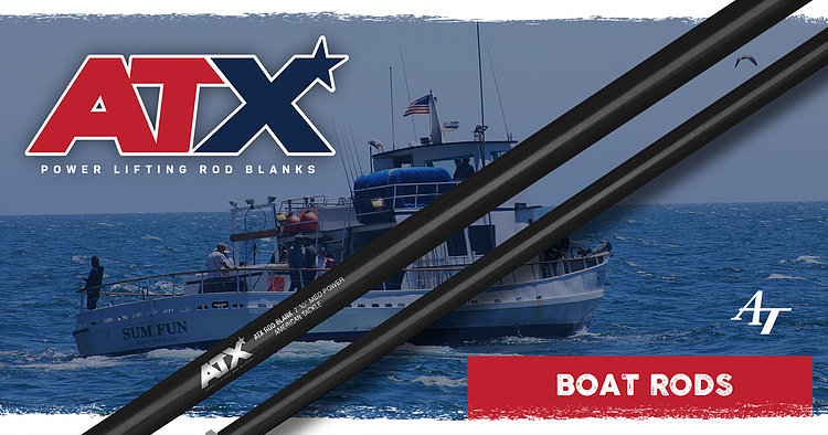 AT - ATX Boat Rods