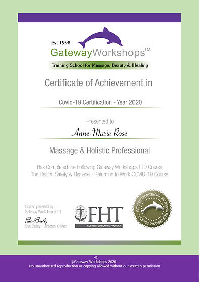 Gateway Workshop Infection Control Cours