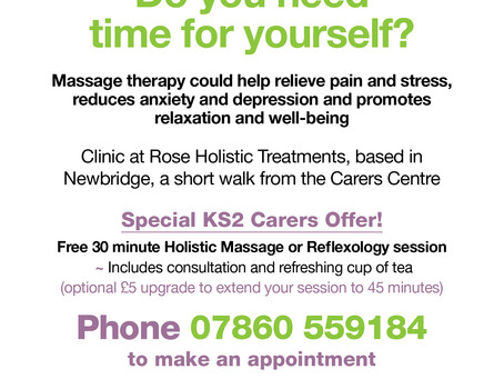 Massage & Reflexology for KS2Bath