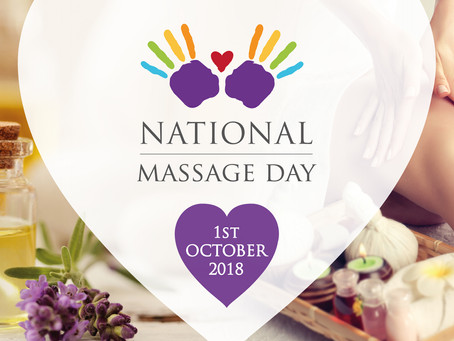 Let's celebrate National Massage Day & Pro- Touch Awareness Month!