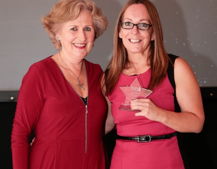 LOCAL THERAPIST RECOGNISED WITH EXCELLENCE AWARD
