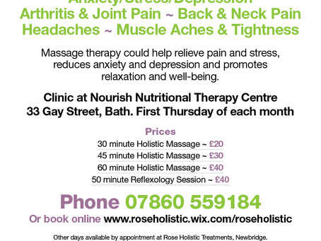 New! Central Bath Clinic opening 4 Feb 2016