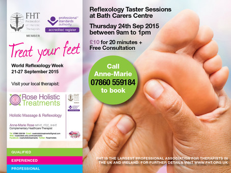 Carers - Treat Your Feet!