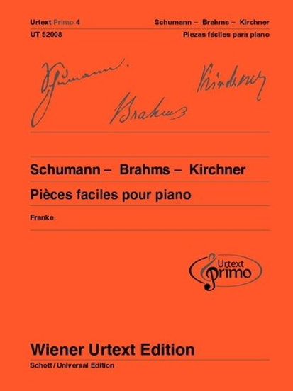 Robert Schumann: Urtext Primo Volumen 4 for piano