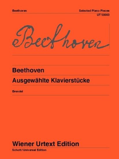 Ludwig van Beethoven: Selected Piano Pieces for piano