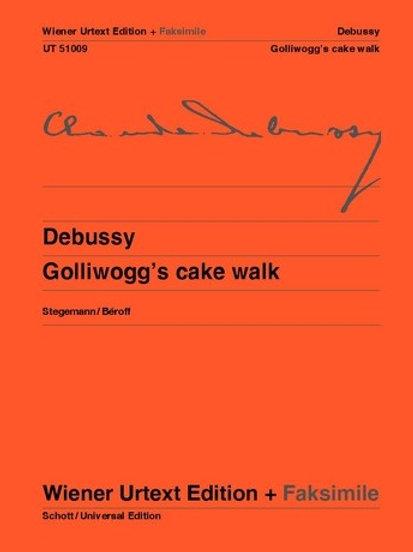 Claude Debussy: Golliwogg's Cake Walk for piano