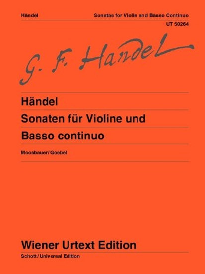 Georg Friedrich H?ndel: Sonatas for violin and basso continuo