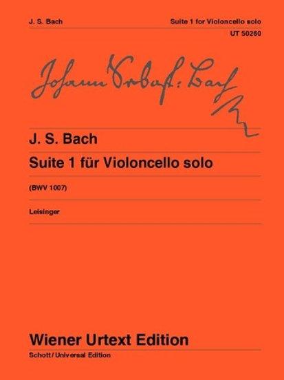 Johann Sebastian Bach: Suite I - G major for violoncello solo