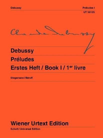 Claude Debussy: Preludes for piano