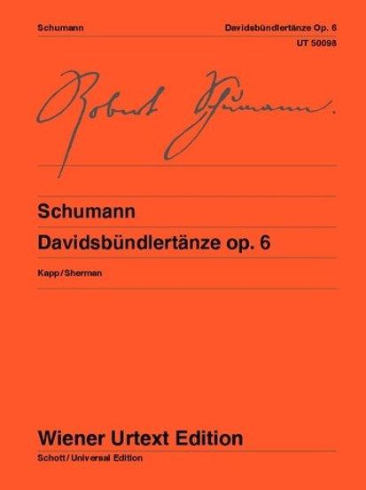 Robert Schumann: Davidsb?ndlert?nze for piano op. 6
