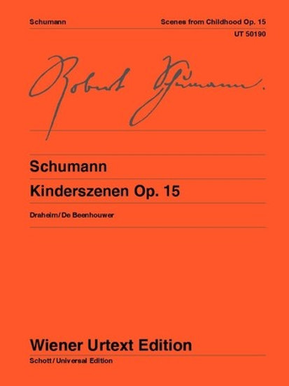 Robert Schumann: Kinderszenen (Scenes from Childhood) for piano op. 15
