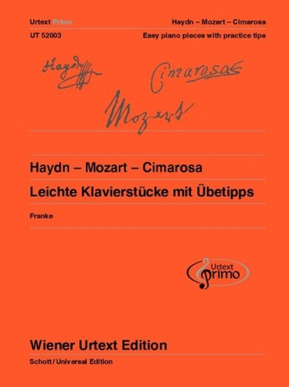 Joseph Haydn: Urtext Primo Volume 2 for piano