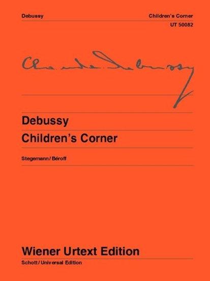 Claude Debussy: Children��s Corner for piano