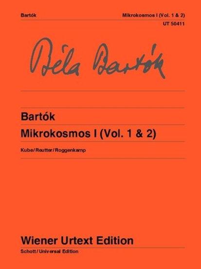 B?la Bart?k: Mikrokosmos for piano
