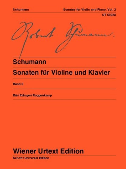 Robert Schumann: Sonatas for violin and piano